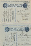 "9824- N°. 3 FRANCHIGIE P.M. 2° GUERRA SPEDITA DA ""POSTA MILITARE N.93""-1941 - 1900-44 Vittorio Emanuele III"
