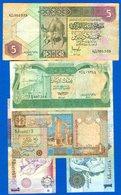 Libye  5  Billets - Libya