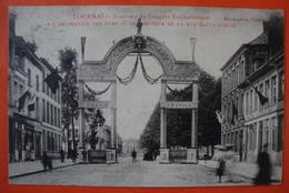 Tournai. Congrès Eucharistique . 1906 . Rue St Martin - Tournai