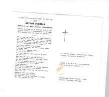 A.DOBBELS °BRUGGE 1913 +BLANKENBERGE 1972 (E.VANDIERENDONCK) - Devotion Images