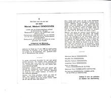 M.DENDOOVEN °HEIST1936 +KNOKKE 1971 (M.DOBBELAERE) - Devotion Images