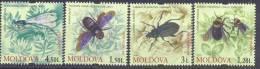 2009. Moldova, Insects, 4v, Mint/** - Moldavia