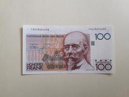 100 Francs Belge Neuf - Bélgica