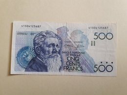 500 Francs Belge Neuf - Bélgica