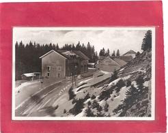 Cpsm Glacee Format Cpa.142. LE JURA .. LA FAUCILLE + HOTEL DE LA COURONNE . ECRITE AU VERSO - Autres Communes