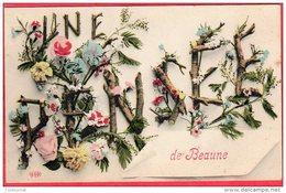 CPA 21 UNE PENSEE DE BEAUNE - Beaune