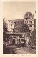 EVIAN-LES-BAINS - LE FUNICULAIRE ET HOTEL SPLENDIDE - Evian-les-Bains