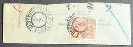 "Austria-Hungary 1903 Postal Form Cut, 1 Stamp, Cancelled ""Sarajevo"" - Non Classés"