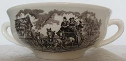 Porcelaine Royal Tudor Ware Staffordshire Bol Avec Deux Anses - Royal Stafford (GBR)