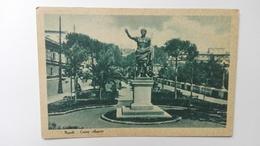 NAPOLI - Monumento A Cesare Augusto - Napoli