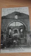 CPA -  LA GUERRE EN LORRAINE (WOEVRE) -  BERNECOURT Intérieur De L'église - Oorlog 1914-18