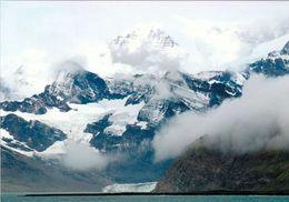 3 AK Antarctica * South Georgia Island * 3 Ansichten Dieser Insel * Britisches Überseegebiet - South Atlanic Ocean * - Cartoline