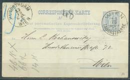Austria 1888 Postcard, Vienna, 1 Stamp, Used - Non Classés