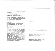 E.DOBBELS °BRUGGE 1909 +BLANKENBERGE 1980 (F.BLIECK) - Devotion Images