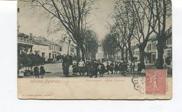 CPA - MAUBOURGUET - Les Allées LARBANES - Circulée - (1 Petit Pli Mais Bon état) - Maubourguet