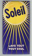 Lessive : Ancien Paquet De Poudre à Lessiver Soleil Lave Tout Tout Seul Wast Alles Heel Alleen (années 1950) - Parfum & Kosmetik