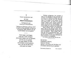 VISSER  A.DOBBELAERE °ZIERIKZEE 1917 +HEIST 1995 (E.BEIRENS) - Devotion Images