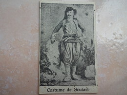 CPA ALBANIE Costume De SCUTARI - Albania
