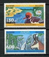 (!)  EUROPA CEPT De 1999  Thème Réserves Et Parcs Naturels BULGARIE  Y&T 3814A/3814B Neuf(s) ** Mnh - 1999