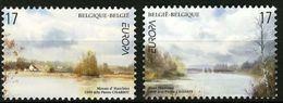 (!)  EUROPA CEPT De 1999  Thème Réserves Et Parcs Naturels BELGIQUE  Y&T 2815/2816 Neuf(s) ** Mnh - 1999