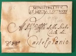 1811  SERRA SAN QUIRICO  PER CASTELPLANIO - 1. ...-1850 Prefilatelia