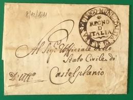1811  SERRA SAN QUIRICO  PER CASTELPLANIO - ...-1850 Préphilatélie