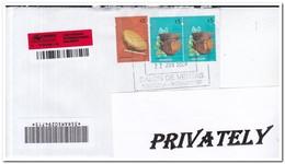 Argentinië 2009, Registered Letter To Netherland - Storia Postale