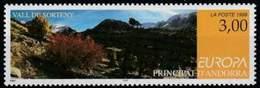 (!)  EUROPA CEPT De 1999  Thème Réserves Et Parcs Naturels ANDORRE ESPAGNOL  Y&T 257 Neuf(s) ** Mnh - 1999