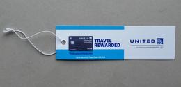- Etiquette à Bagages - UNITED - - Baggage Etiketten