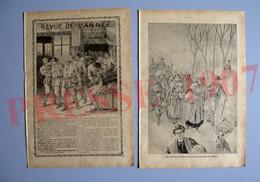 2 Scans Eruption Du Vésuve 1906 Ottajano Parghelia San Stefano Torre Del Greco Catastrophe De Courrières 223CH31 - Unclassified