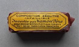 - Pate Zéolithe. Inventée Par Hamon Père - Pour Donner Le Tranchant Aux Rasoirs - - Parfums & Beauté