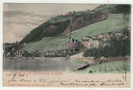 Suisse // Schweiz // Switzerland // Vaud // Montreux-Territet, Le Funiculaire à Glion - VD Vaud