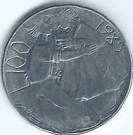 San Marino - 1985 - 100 Lira - KM179 - San Marino