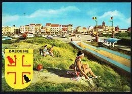 "BREDENE / BREDUNES - ""De Groeten Uit Bredene !"" - ""Un Bonjour De Bredene - Non Circulé - Not Circulated - Nicht Gelaufen - Bredene"