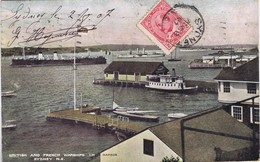 Canada - Nova Scotia - Cape Breton - Sydney - British And French Warships - Cape Breton