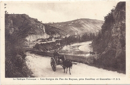 CPA - Pas Du Raysse - Les Gorges -  Entre Cazoulès Et Souillac - Andere Gemeenten