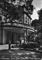 "010499 ""CALTANISETTA - GRAND HOTEL CONCORDE - VILLA MASSONE""  AUTO, VERA FOTO. CART  SPED 1957 - Caltanissetta"