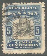 916 Canal Zone 1909 Justo Arosemena (UCZ-3) - Canal Zone