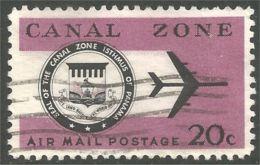 916 Canal Zone 1965 Avion Jet Airplane Aero (UCZ-30) - Canal Zone