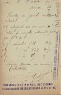 Dep 35 ,  Cpa VITRE , Echéances 15 Et Fin Du Mois , Payable Banque HEUDE BIRCHANN (19601) - Vitre