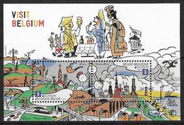België/Belgique 2012 Blok's/Blocs 198xx EUROPA - Visit Belgium. - Blocks & Sheetlets 1962-....