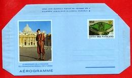 Vaticano 1996 - Aerogramma Organizzazione Mondiale Del Turismo - Entiers Postaux