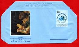 Vaticano 1997 - Aerogramma IV Centenario Della Prima Scuola Pubblica Popolare - Entiers Postaux