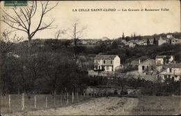 Cp La Celle-Saint-Cloud Yvelines, Les Gressets Et Restaurant Vallet - France