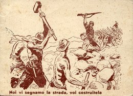54173 Eritrea,cartolina Viaggiata 1936 Da Decamerè A Torino,cart.ad Uso Truppe Italiane Africa Orientale, - Eritrea