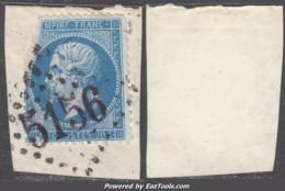 *FAUX* GC 5156 (Cavalle, (Turquie)), Cote De L'original 1750€ - 1849-1876: Classic Period