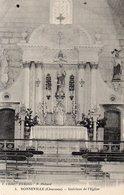 SONNEVILLE  Intérieur De L'église - France