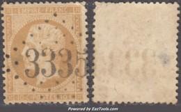 *RARE* GC 3335 (Sauzet, Drôme (25)), Cote 75€ - Marcophilie (Timbres Détachés)