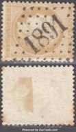 GC 1891 (Jougne, Doubs (24)), Cote 12€ - 1849-1876: Classic Period