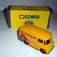 "Camionnette Morris L.D 150 ""Cirque Pinder"" - 1/50 Ème-  Altaya - Corgi - Non Classificati"